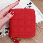 Bifold Leather Wallet for Women Ladies Mini Card Holder Zipper Coin Bag Purse image