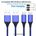 6Ft 2 Meter Charging Cable Fast Charger For Samsung Note 3 4 5 S4 S5 S6 S7 Edge