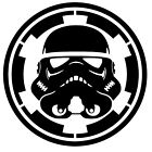 Star Wars Stormtrooper Imperial Vinyl Decal Sticker Car Van Laptop Wall Tablet $10.64 AUD on eBay