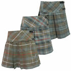 Tartanista Woman's Scottish Weathered Look Pleated Plaid 16.5 Inch Kilt