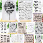 Kyпить Letters Clear Silicone Stamp Transparent Rubber Stamps Cling DIY Scrapbook Card на еВаy.соm