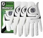 Footjoy WeatherSof Golf Glove 3-Pack SPECIAL OFFER - Size Options