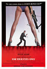 For Your Eyes Only 4 Poster Movie Poster Canvas Picture Art Wall Decore £35.0 GBP on eBay