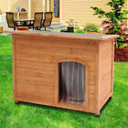 Large Wooden Dog Pet Kennel Outdoor Home Shelter House Removable Floor