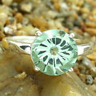 Simulated Green Sapphire 925 Sterling Silver Ring Jewelry Size 6-9 DGR1090_C