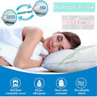 XXLarge Queen Size Adjustable Cooling Bamboo Memory Foam Pillow Hypoallergenic image