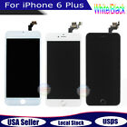 White For iPhone 6 Plus LCD Display Touch Screen Digitizer Assembly Replacement