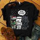 Star Wars Christmas Boba It's Cold Outside Mens Graphic T Shirt $16.99 USD on eBay