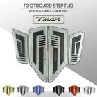 Motorcycle Footboard Steps Foot Pegs Footrest Pad for Yamaha T-MAX 530 TMAX530