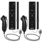 1x /2x Remote Controller Motion Plus & Nunchuck Combo Set for Wii /Wii U Console