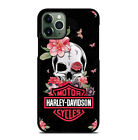Flower Harley Davidson Phone Case For iPhone 6/6s 7 8 Plus X/XS Max Xr 11 Pro $15.9 USD on eBay