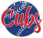 "Chicago Cubs Ball MLB Baseball Sport Car Bumper Sticker Decal ''SIZES"" on Ebay"