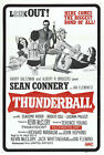 Thunder Ball 5 Poster Canvas Picture Art Wall Decore £63.0 GBP on eBay