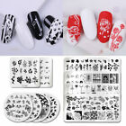 PICT YOU Nail Stamping Plates Rose Stainless Steel Nail Art Image Stamp Tools