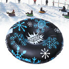 Snow Tube For Winter Fun Inflatable 47 Inch Heavy Duty Snow Sleds For Kids Adult