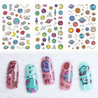 Space Lovely Star Nail Art Water Decals Transfer Stickers Nail Decoration Tips