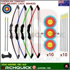New Youth Archery Compound bow Set Junior Kids 12 lb Pack Right /Left