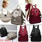 Women PU Leather Backpack Casual Handbag Shoulder Travel School Bag Rucksack HOT image