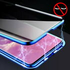 360° Anti-Spy Privacy Magnetic Adsorption Phone Case Cover Double Tempered Glass $11.39 USD on eBay