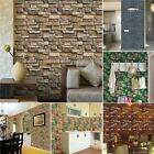 Diy Brick Tile Stickers Home Decor Kitchen Bathroom Wall Wallpaper Decal Gi8