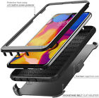 RUGGED ARMOR TANK Clip Stand Holster Phone Case Cover +BUILT-IN SCREEN PROTECTOR
