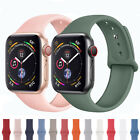 Silicone Band Watch Strap Bracelet For Apple Watch iWatch 38/40  42/44 image