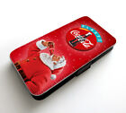 Christmas Santa Claus Drink Coca-Cola New Year Happy Wallet Leather Phone Case £9.99  on eBay