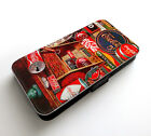 Vintage Coca Cola Old Designs Poster Happy Holidays Wallet Leather Phone Case £9.99  on eBay
