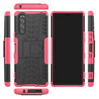 For Sony Xperia5 Hybrid 2in1 Rugged Tire Anti Impact Skidproof Rubber Case Cover