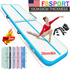 10/13/16/20FT Airtrack Inflatable Air Track Floor Gymnastics Tumbling Mat+Pump image