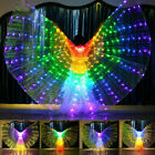 Girls Kids LED Isis Wings Belly Dance Light Show Costume Egyptian Performance