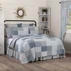 Sawyer Mill Farmhouse Blue - Country Patchwork Quilt & Accessories -VHC Brands image