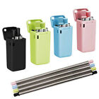 Reusable Collapsible Straws Portable Stainless Steel Metal Straws
