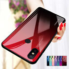 Gradient Tempered Glass Back Case Cover For Xiaomi 6 8 A1 A2 lite Pocophone F1 $3.41 USD on eBay