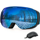 Kyпить NEW Winter Ski Goggles Magnetic Glasses with Interchangeable Len Anti-Fog UV400 на еВаy.соm