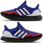 Adidas Ultra Boost 2.0 Mens All Sizes Trainers Shoes Hi-Res Blue-Solar Red-Black