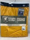 NEW IN  POLY BAG Stacy Adams Moisture Wicking Comfort Blend SHORT BRIEFS S-4XL