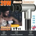 Massage Gun Sports Recovery Deep Percussion Vibrating Muscle Relaxing Massager $47.73 USD on eBay