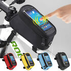 Waterproof Touch Screen Bike Frame Front Bag Case Holder Pouch for Mobile iPhone