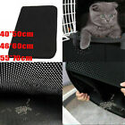 Cat Litter Mat Creative Honeycomb Double Layer Design Nonslip Trapping Mat Pad