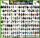 Star Wars Minifigures obi-wan darth vader clone ahsoka yoda skywalker han solo $1.99 USD on eBay