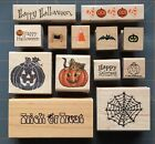 HALLOWEEN & FALL RUBBER STAMPS * WONDERFUL SPOOKY DESIGNS * SOME RARE ~ YOU PICK