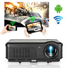 Android WiFi Projector LED Home Theater Movie Multimedia Video HDMI USB VGA TV