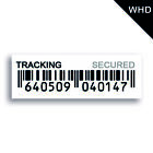 Tracked Secured Barcode Postal Stickers Labels Tracked Mail Delivery