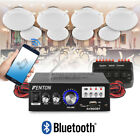 ceiling speakers bluetooth amplifier system cafe restaurant shop select 2 4 8