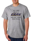 T-shirt All I Care About is EBAY and maybe 3 people Occupation Gildan