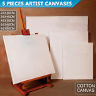 Artist Blank Stretched Canvas Canvases Art Large White Range Oil Acrylic Wood