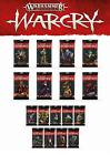 Kyпить Warcry Cards Faction Packs: Build Your Bundle Warhammer Age of Sigmar 02/22 F&F! на еВаy.соm