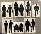 First 12 Vintage Star Wars Car Decal Viynl   *Pick Character Color And Size* $4.49 USD on eBay