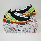 Dolce And Gabbana Sorrento Knitted Trainers